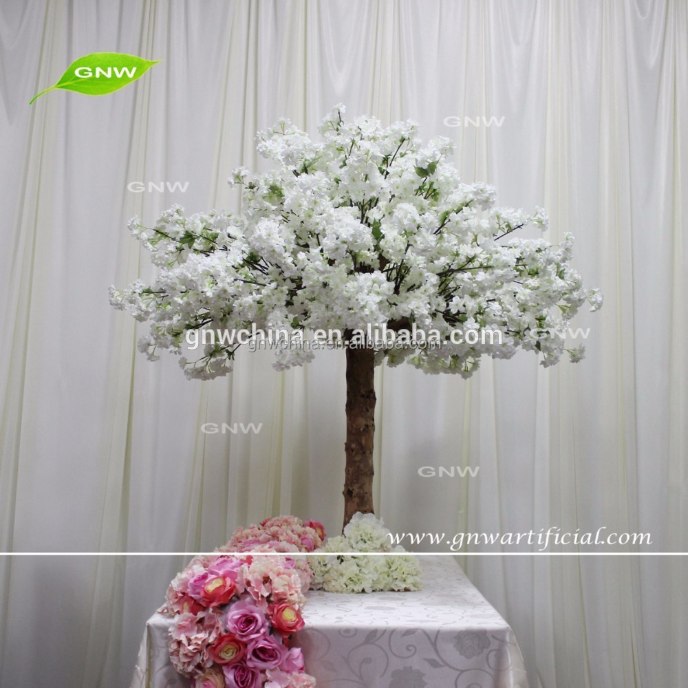 Gnw Ctr161018 001 Centerpiece With Fake Flower Cherry Blossom Mini