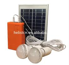 Hot Sell mini home solar power system with mobile charger project