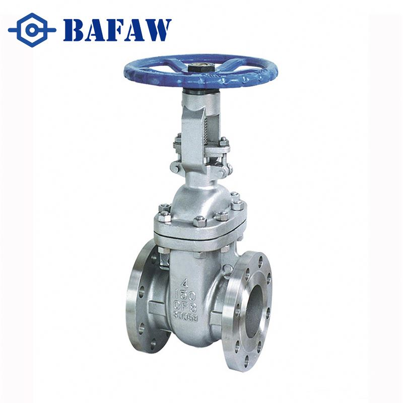 Certified to ISO-9001 china supplier carbon steel dn50 pn16 cast steel 6 inch flanged gate valve drawing made in china
