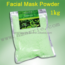 Neutriherbs hot 2016 private label skin care product anti aging green tea mask powder