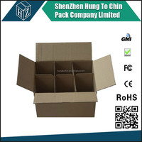 On hat sales competitive price Durable,nice design and strong quality wine bottle carton box