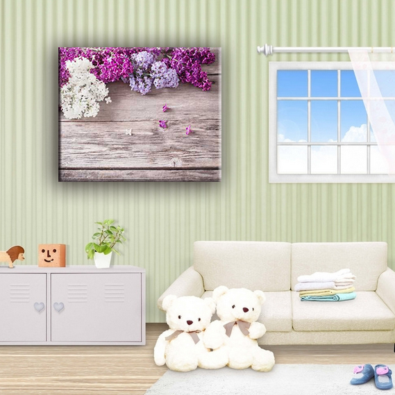 Modern decoration flower canvas painting wall pictures for living room