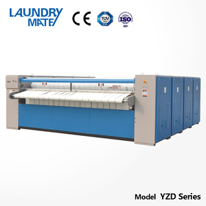 Industrial bedsheet steam ironing machine hotel laundry equipment