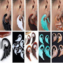 Swan shape earings expander jewelry piercing