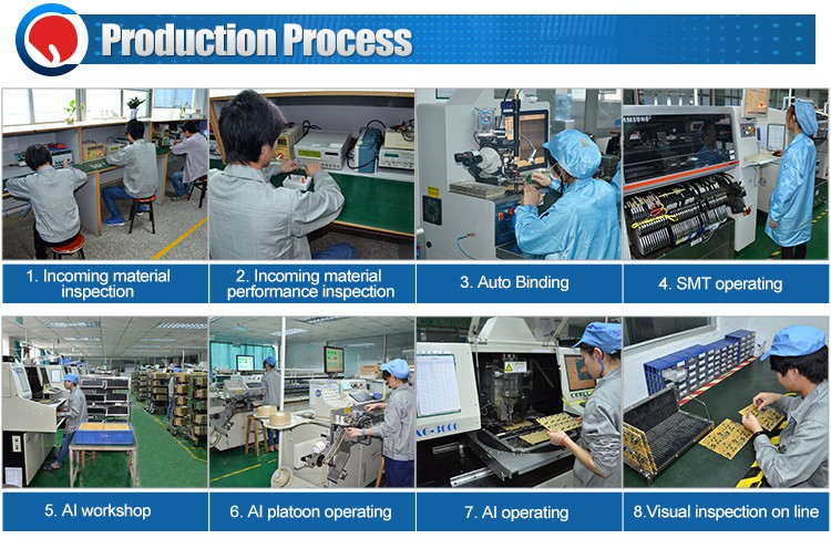 IR universal remote control manufacturing in china/remote control PCBA with LCD apply for fan supporting the motherboard