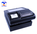 true flat resistive touch screen coffee shop billing pos machine with printer