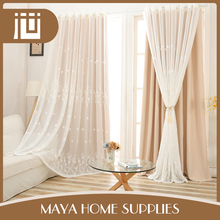 New style different design bulk ready made household window curtain