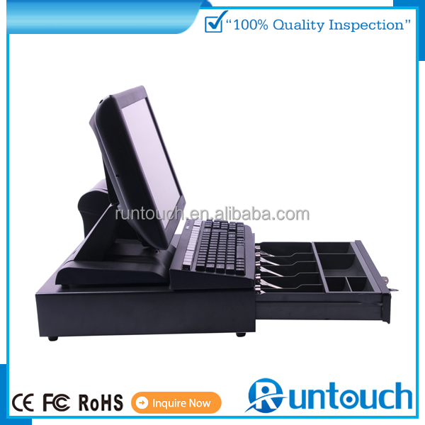 Runtouch EcoPOS Touch Screen POS System EPOS TILL 15 inch touch monitor stand pos