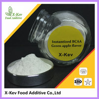 [1kg/bag 25kg/drum] Best bulk unflavored/green apple flavor instantized powder bcaa 2:1:1