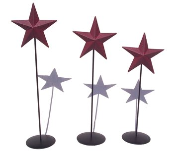 Barn Star Pedestal