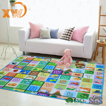 educational alphabet letter Baby mat, baby non-toxic play mat, baby playmat