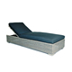 All weather waterproof rattan outdoor furniture patio lying bed sunbed adjustable beach sun lounger