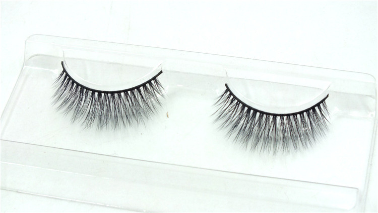 2017 Handmade synthetic black band volume 3D eyelash extensions for sale