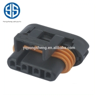 12162144 4pin black waterproof male female wire connector for wire harness and automobile assembly