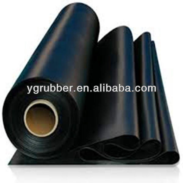 Colorful Thin Rubber Sheet of Silicone