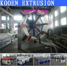 hoge efficiency pp hdpe plastic pijp machine