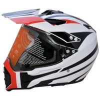 DOT motorcycle off road dirt bike motocross helmet