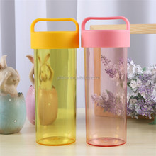 Promotional items for 2017 plain clean plastic water bottle
