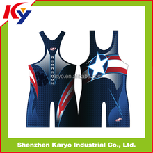 Karyo Apparel Hot Sale Ireland Wrestling Singlet Youth Wrestling Singlet