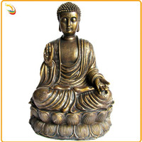 Antique Arts And Crafts Bronze Buddha Statue For Garden Decoration