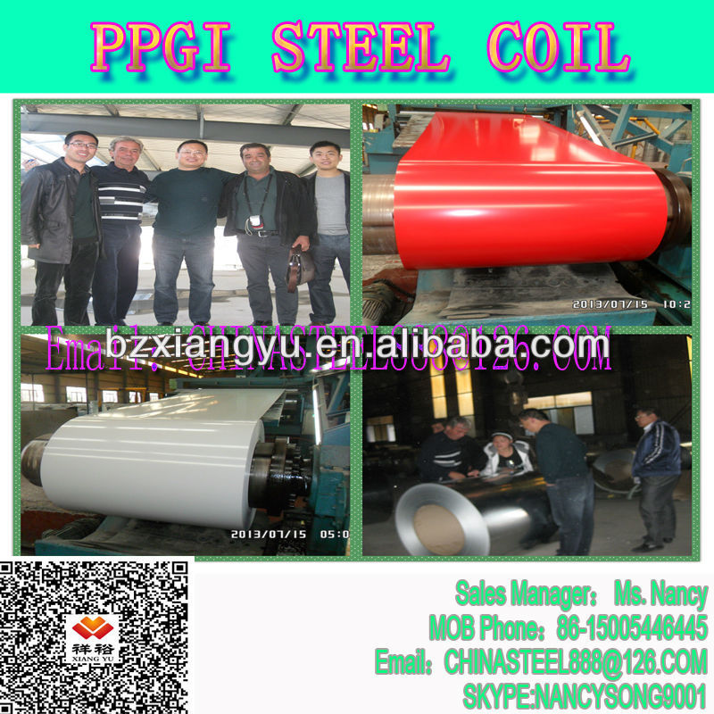 High Quality Color Coated Steel For Roofing Sheet Export to Kenya