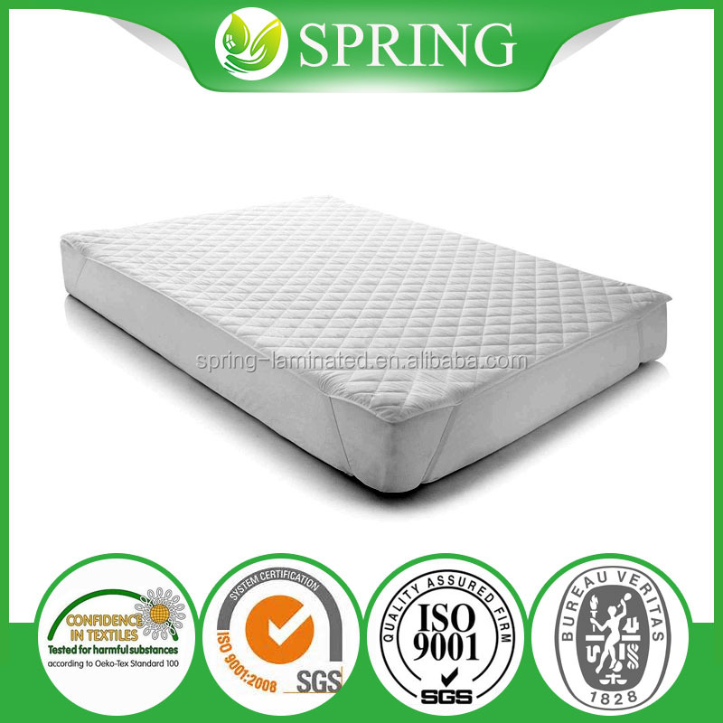 Hypoallergenic 100%Waterproof Against Dust Mites,Bed Bug,Stains and Fluids Twin Size Mattress Protector JN-1705108
