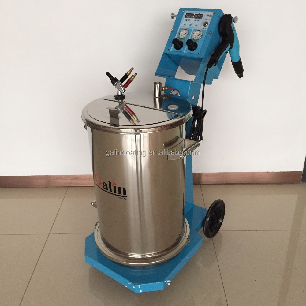Intelligent Electrostatic used powder coating equipment for sale