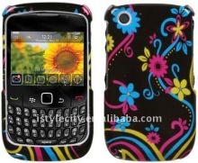 Colorful Graphic Hard Case for BlackBerry Curve 3G 9300 / 9330 / 8520 / 8530