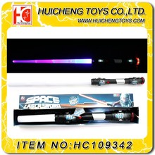 new design shacking star war weapon glow sword toy