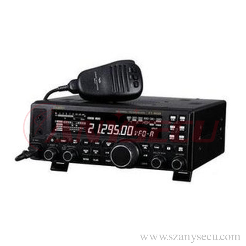 100W yaesu mobile ham radio FT-857D the world's smallest HF/VHF/UHF mobile transceiver