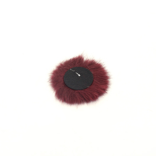 Gold supplier various color ball shape fake fur pompom