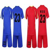 2017 Famous Design Low MOQ High Quality Customized Soccer Jersey