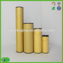 2016 factory wholesale custom made eco friendly top quality kraft paper mailing tube