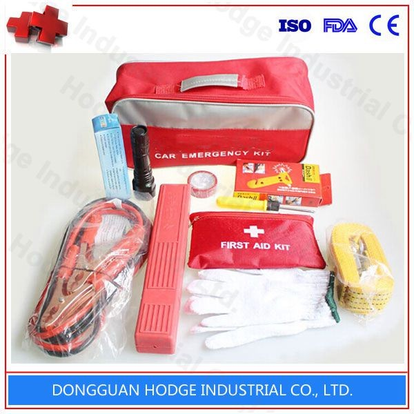 Road Car Accident Safety First Aid Kit