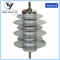 Hangzhou 500kV Substation Type Polymer Housed Lightning Arrester Price 33kV