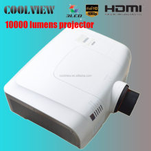 full HD 1920*1200 pixels high brightness 10000 lumens full hd 3d projector 3lcd
