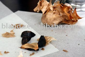 aged black garlic hot in Japan and Korea