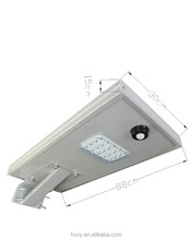 All in one solar led street light 18w LED for garden street light