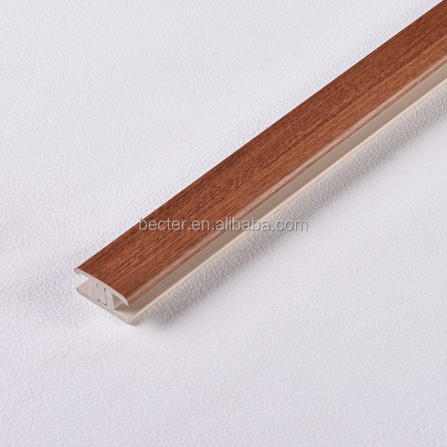 Laminated Interior Decorative Ceiling Border PVC H Corner for wall and ceiling