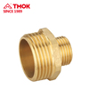 TMOK pipe fittings double union nipple male thread connector compression