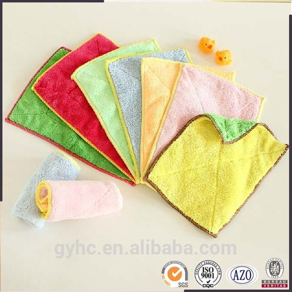 Wholesale coral fleece absorbent cloths kitchen towel