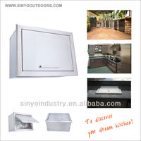 Flush Mounted Ice Box Stainless Steel
