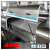 stainless steel snack and slat conveyor food mixer cooling tunnel