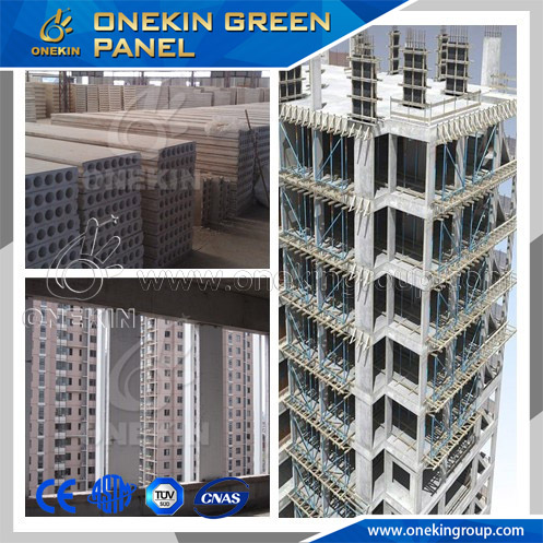 Onekin fireproof heat-insulating green fiber cement sandwich panel