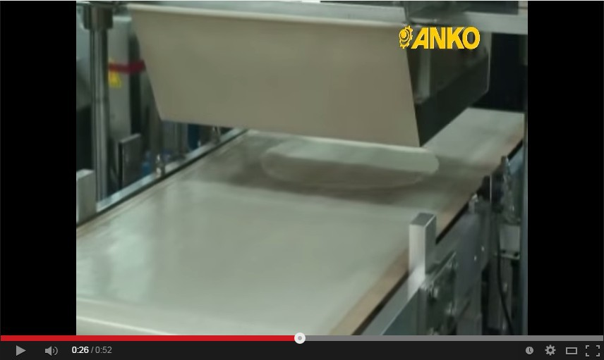 Anko Small Scale Electric Automatic Flour Tortilla Making Machine