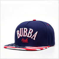 USA fashion Acrylic material 3d embroidery emboss logo hip hop snapback cap wholesale