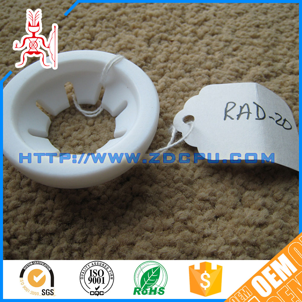 Food grade low noise plastic spacer washers gasket