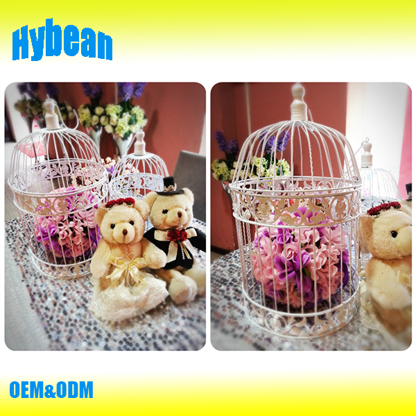 metal bird cages for decoration