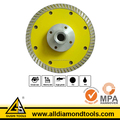 Continuous Rim Turbo Diamond Blade with Flange