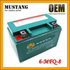 Maintaince free AGM battery lead acid battery 6V motorcycle battery
